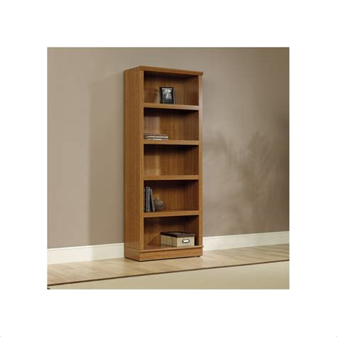 Not Available Sauder Homeplus 5 Shelf Bookcase In Sienna Sauder 5 Shelf Bookcase