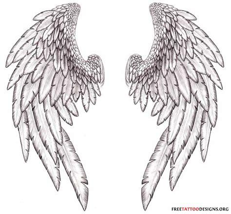 tattoo gallery angel wings realistic angel wings drawingdenenasvalencia