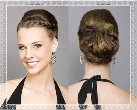 Wedding Hairstyles Updos Braided by Braided Updo Wedding Hairstyles Medium Hair Styles Ideas