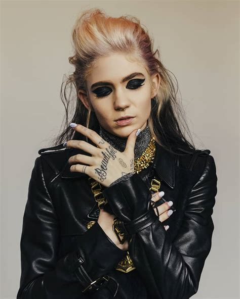 grimes in reality the fader