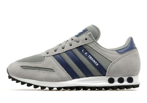Adidas La Trainer Original 1 adidas la trainer grey and blue calsystem co uk