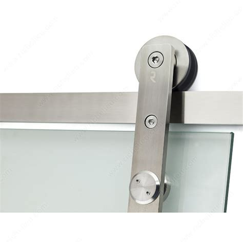 Wall Mount Sliding Door Hardware by Connect Glass Door Wall Mount Sliding System Richelieu