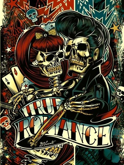 imagenes rockabilly love rockabilly color skull vectors pinterest