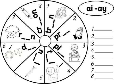 Ai And Ay Worksheets by 16 Best Images Of Jolly Phonic Printable Worksheets