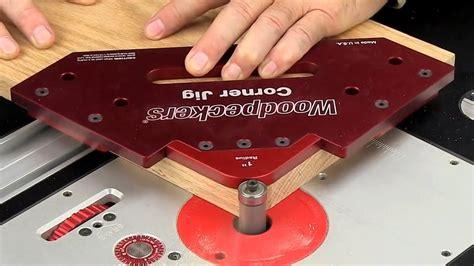 woodpeckers corner jig onetime tool youtube