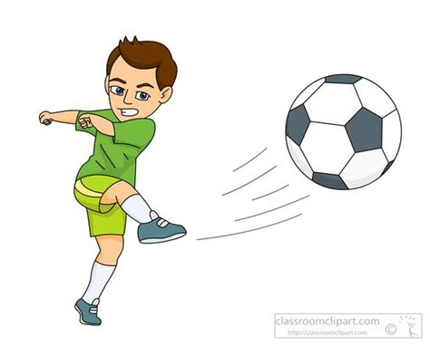 Kickers Animation soccer clipart soccer kick pencil and in color soccer clipart soccer kick