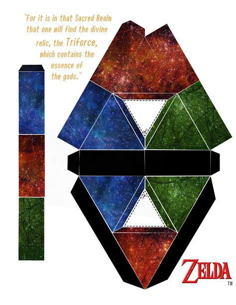 Triforce Papercraft - cool crafts