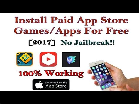 i mod game no jailbreak new 2017 how to install paid app store games apps free