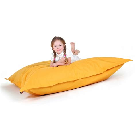 Bean Bag Chairs For Adults by Bean Bag Adults Bean Bag Chair Large Yellow Ebay