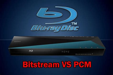 Format Audio Pcm Ou Bitstream | blu ray disc player audio settings bitstream vs pcm