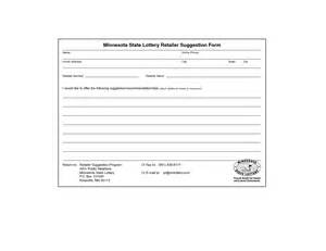 employee suggestion form template best photos of sle employee suggestion forms employee