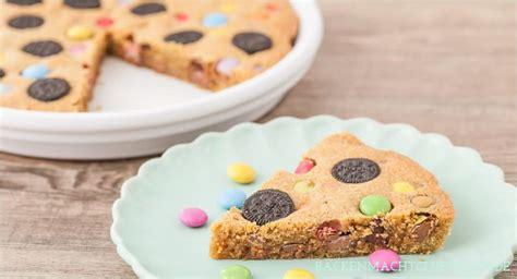 cookie kuchen cookie pie kuchen mit s 252 223 igkeiten backen macht gl 252 cklich