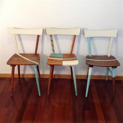 Dining Chairs Shabby Chic Dining Chairs Shabby Chic Chairs Vintage Chairs Midcentury Chairs Turquoise Chairs Haute Juice