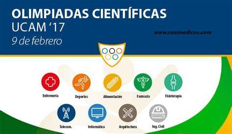 olimpiadas cientificas convocatoria olimpiadas cient 237 ficas en la ucam para alumnos de