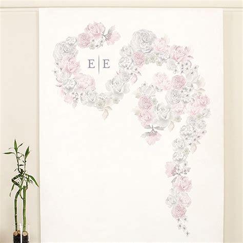 Wedding Backdrop Canvas by Floral Dreams Personalised Canvas Photo Backdrop