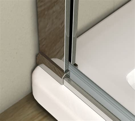 Shower Door Cover Aica Frameless Pivot Walk In Shower Door Enclosure Tray 8mm Glass Screen Cubicle Ebay