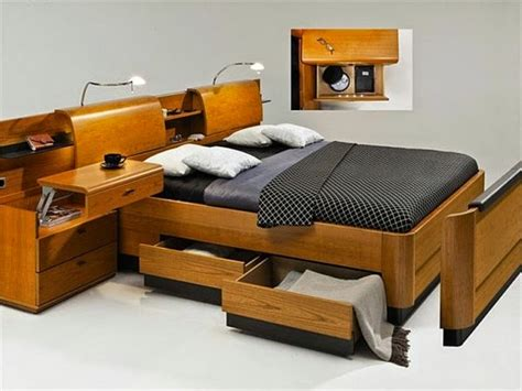 15 cool ideas for bed headboard with storage space and shelves