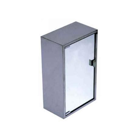 stainless steel large bathroom cabinet at