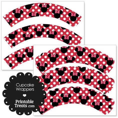 minnie mouse cake template free free printable minnie mouse cupcake wrappers from