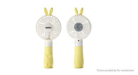 Remax Mini Usb Fan F4 14 40 remax f7 rabbit usb rechargeable portable handheld mini cooling fan authentic 2 speed