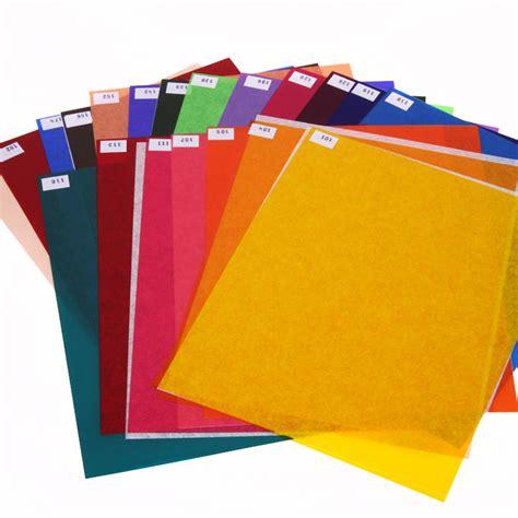 gel filters for lights paul c buff inc set of 20 color gels