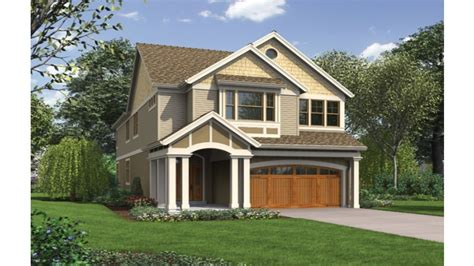 Narrow House Plans With Front Garage by Narrow Lot House Plans With Front Garage Narrow Lot House