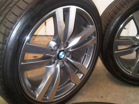 brand new take offs 2012 bmw x6m wheels with tires