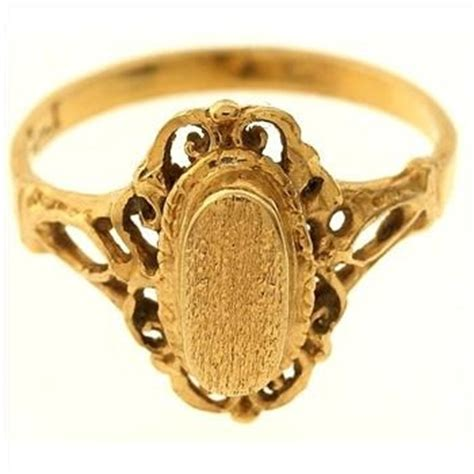 2 5 gram 14kt yellow gold ring property room