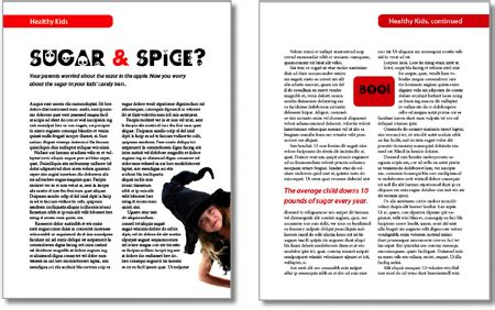 in design article layout indesign how to take control of text wrap creativepro com