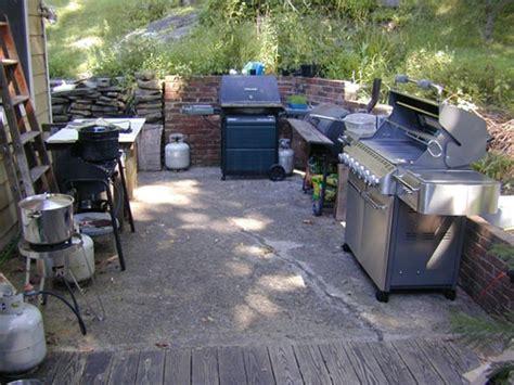 outdoor kitchen forum summer s impromptu canning kitchen canning
