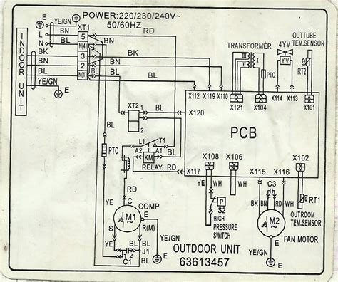 window type aircon wiring diagram 33 wiring diagram
