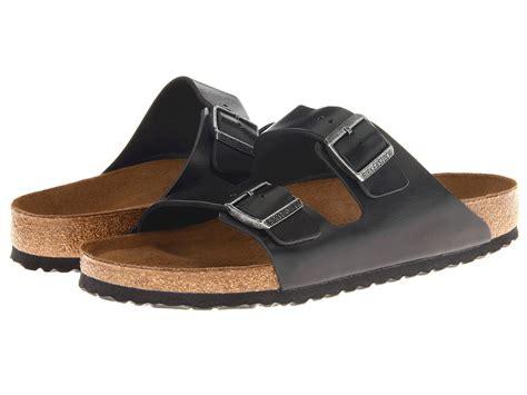 birkenstock unisex arizona soft footbed sandal birkenstock arizona soft footbed leather unisex at