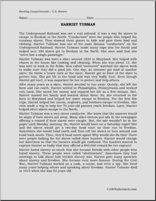 harriet tubman elementary biography biography harriet tubman upper elem middle abcteach