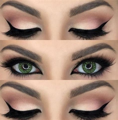 imagenes relajantes para los ojos maquillaje ojos verdes 8 dise 241 os e ideas para este color