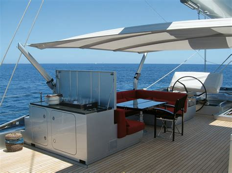 awning system the sun awning multiplex shade system yachts international