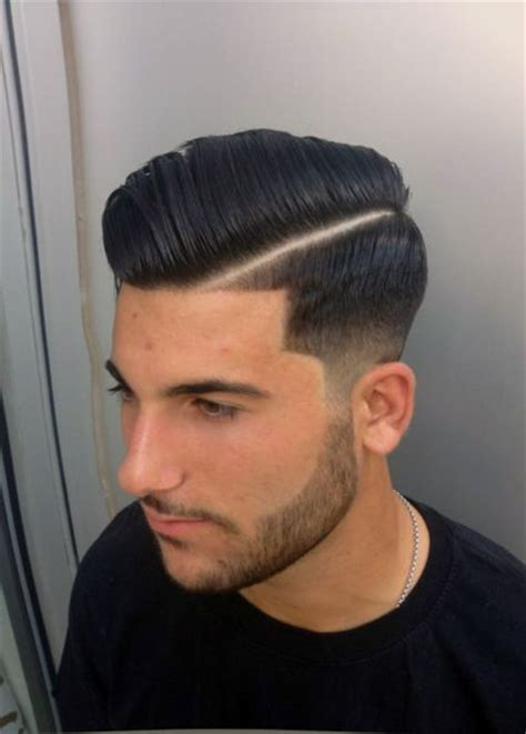 mens hard part hairstyle side part love this look haircut pinterest