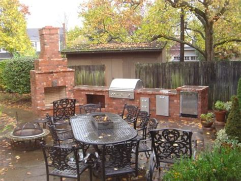 Bbq Fireplace by Backyard Bbq Fireplace Outdoor Furniture Design And Ideas
