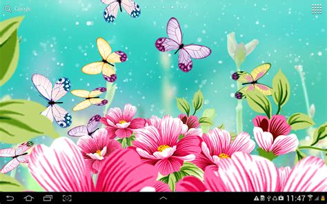 Rainbow Wall Murals flowers wallpaper android apps on google play