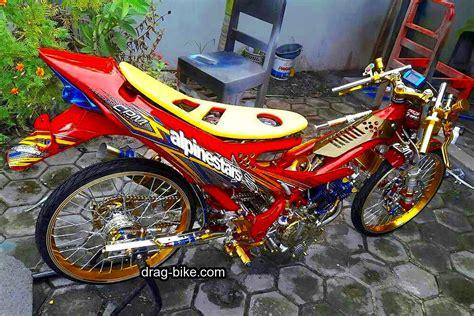 Mesin Airbrush Lengkap 50 foto gambar modifikasi satria fu thailook terbaik terkeren air brush kontes drag bike
