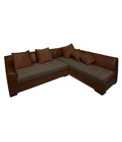 sofa l shape dolphin kingston fabric l shape sofa set available at