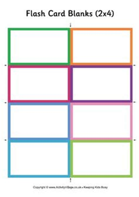 blank task card template blank flash card templates printable flash cards pdf