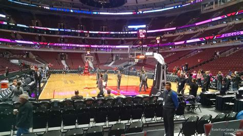 section 118 united center chicago bulls united center section 118 rateyourseats com