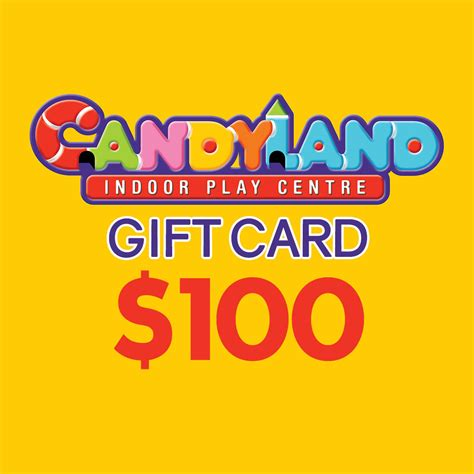 100 Gift Card - gift card 100 candyland