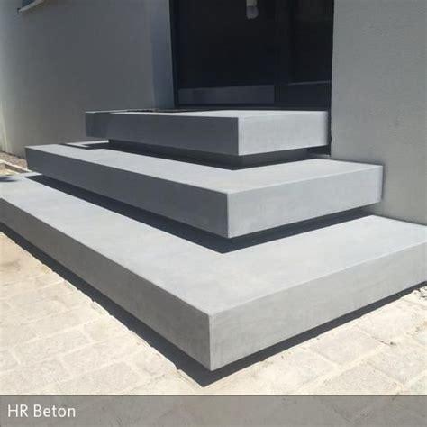 stahlgeländer treppe treppenstufen holz fur betontreppe bvrao