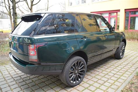range rover green racing green range rover from print tech