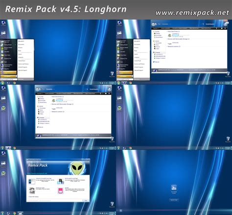 windows 7 v4 for 5 00 5 50 psp best downloads longhorn remix pack v4 5 for windows 7 8 8 1 by remixpack
