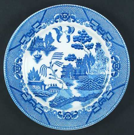 Blue Japan Japan Blue Willow Made In Japan At Replacements Ltd