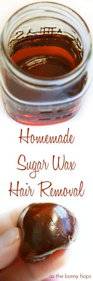 diy sugaring sugar wax recipe as the bunny hops 174