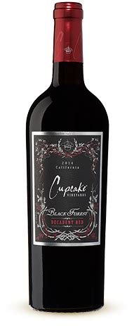 black velvet wine red velvet cupcake wine