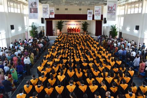 Does A Mba Receive A At Graduation by The Iis Holds Its 5 Th Convocation